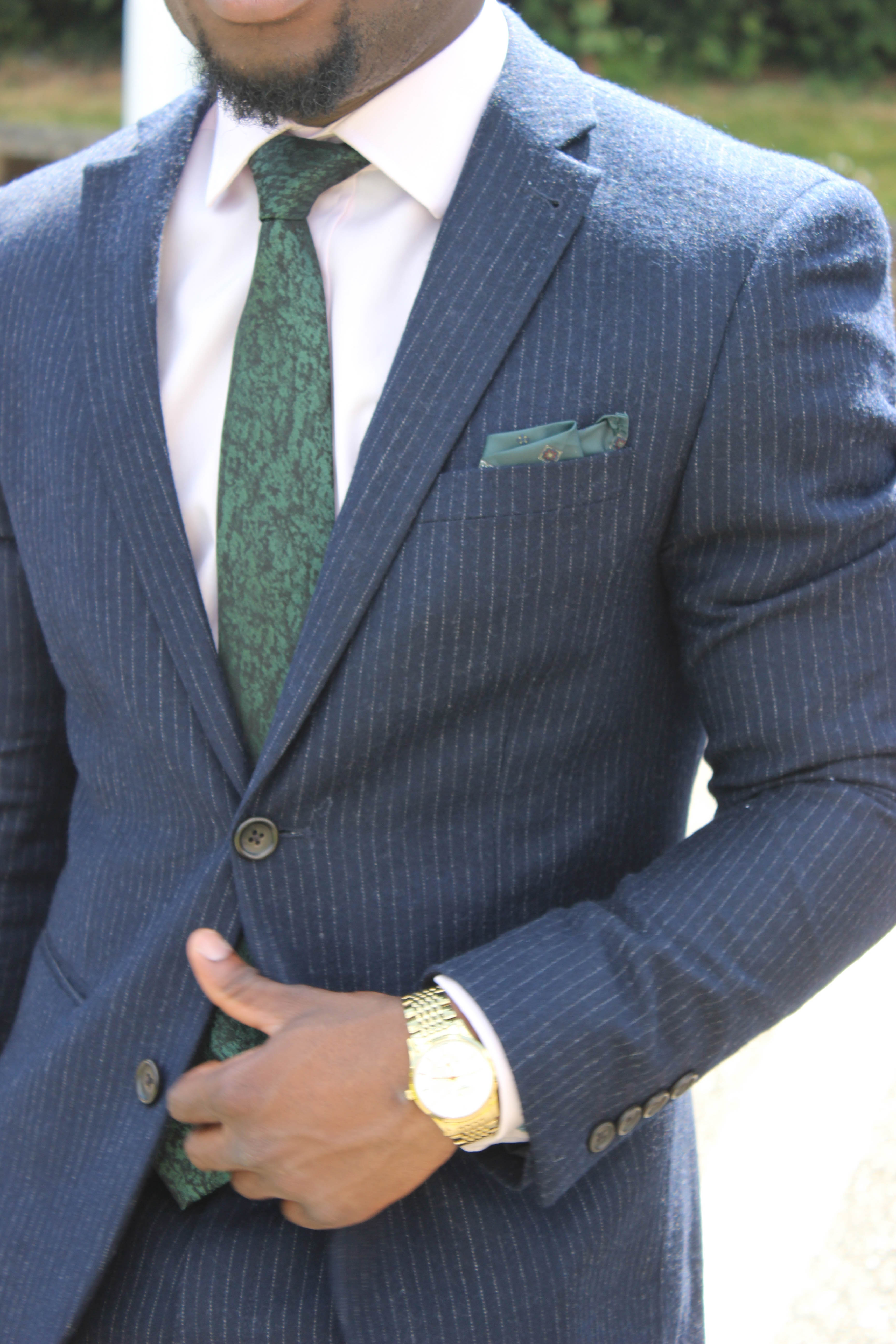 The Pinstripe Suit - Yinka Jermaine