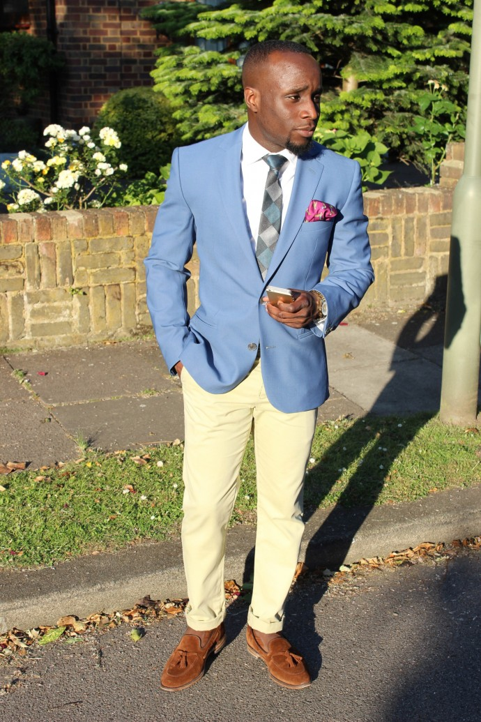 Light Blue Blazer? Why Not - Yinka Jermaine