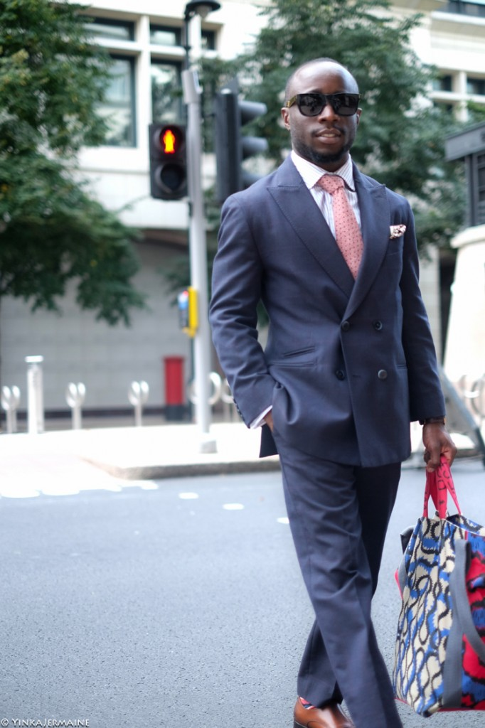 Double Breasted Suit: Extravagantly Business - Yinka Jermaine