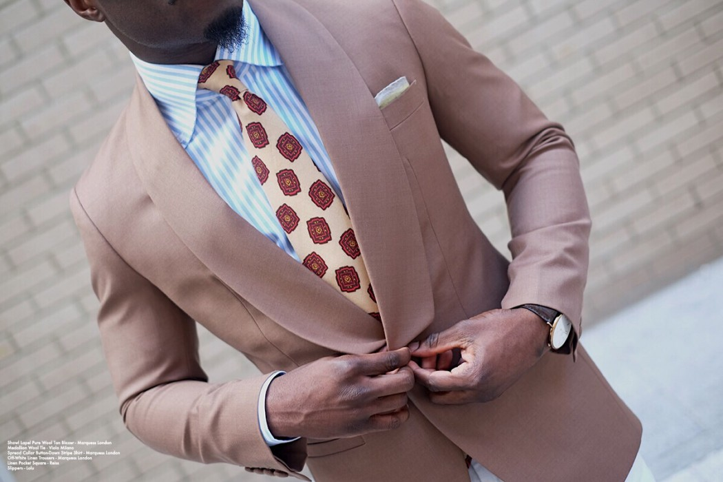 The Casual Shawl Lapel