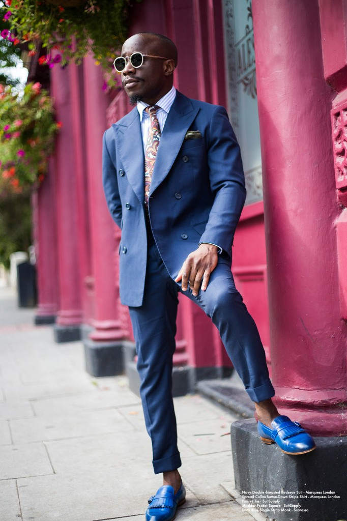 sartorial touch: blue oceans