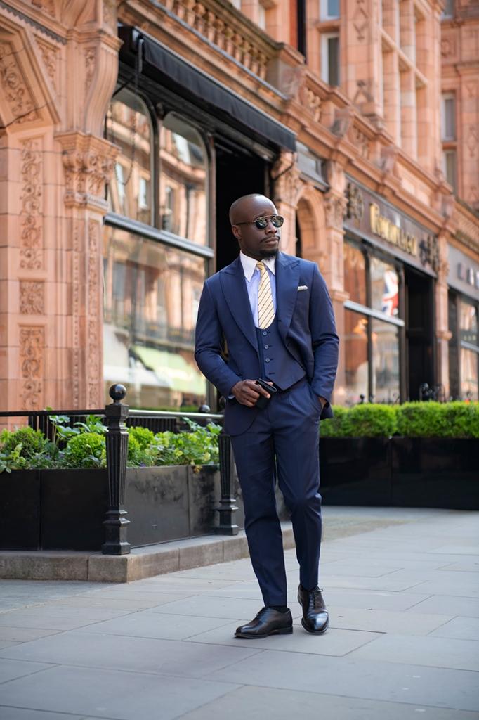 Classic Three-Piece Suit
