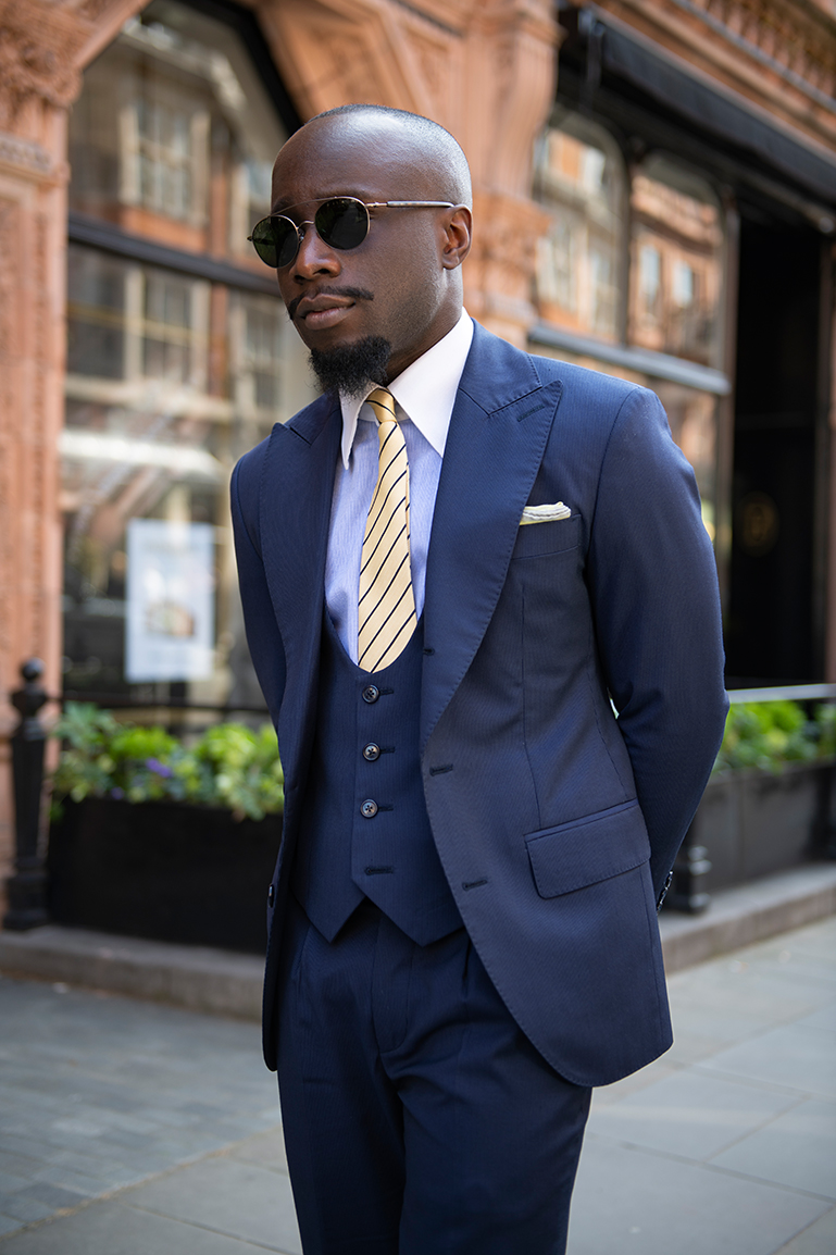 Classic Three-Piece Suit